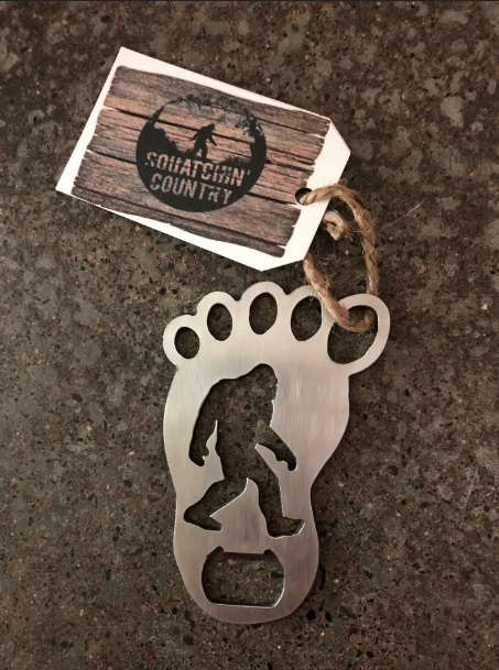 bigfoot sasquatch bottle opener
